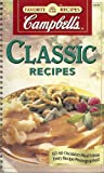 Campbell's Classic Recipes (0785334688) by Editors