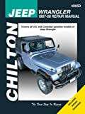Jeep Wrangler 1987-2008 (Chiltons Total Car Care Repair Manuals)