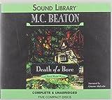 M. C. Beaton Death of a Bore (Hamish Macbeth Mysteries)