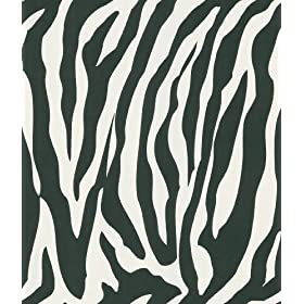 Brewster 405-46966 National Geographic Home Congo White Zebra Wallpaper