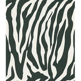 Brewster 405-46966 National Geographic Home Congo White Zebra Wallpaper