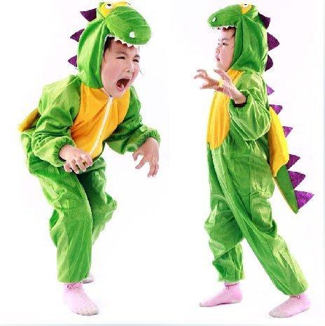 子供用 恐竜コスチューム ハロウィン 着ぐるみ コスプレ Mサイズ 95~105cm