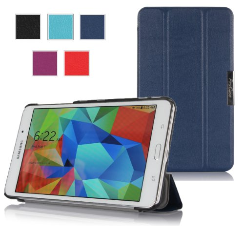ProCase SlimSnug Cover Case for Samsung Galaxy Tab 4 7.0 Tablet 2014 ( 7 inch Tab 4, SM-T230 / T231 / T235) (Navy, Dark Blue)
