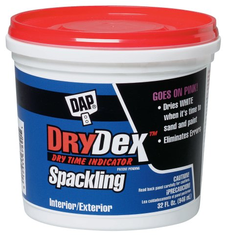 Buy DAP Drydex Dry Time Indicator Spackling, 1-Quart Tub #12330 (DAP Painting Supplies,Home & Garden, Home Improvement, Categories, Painting Tools & Supplies, Wallpaper Supplies, Wall Repair, Spackle)