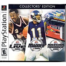 EA Sports Collection (NBA Live 2002, Madden 2002, NASCAR Thunder 2002) - PlayStation