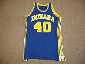 1976 Indiana Pacers #40 Dave Robisch Jersey - Game Used by Hollywood Collectibles