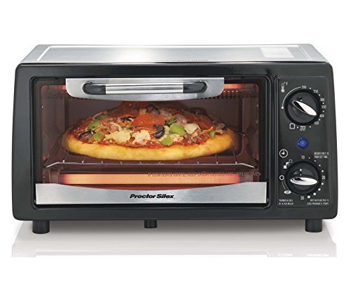 Proctor Silex 31140 4-Slice Electric Counter-Top Toaster Oven with Timer (Toaster Oven Proctor Silex Broil compare prices)