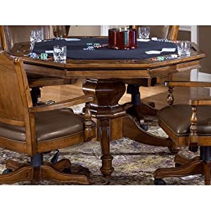Amazon.com - Hillsdale Nassau Game Table in Black - End Tables