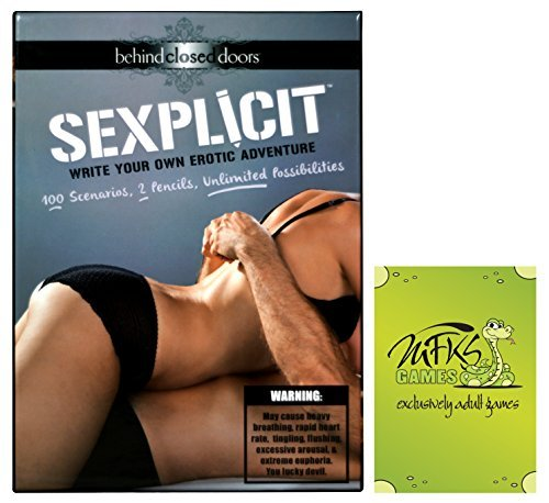 Sexplicit - Adult Game for Couples - Bundle - 2 Items (Euphoria Board Game compare prices)