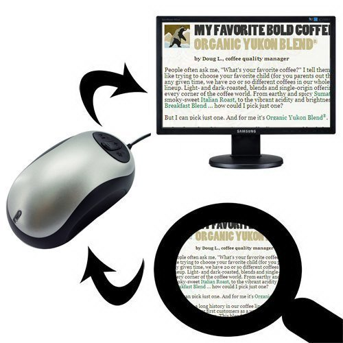 Uphig-verdrahtet-Maus-digitale-elektronisch-Lupe-Lesehilfe-20X-schlechter-Sicht-Presbyopie-Low-Vision-mit-TV-out-Lesehilfe