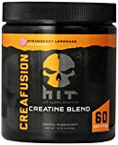 HIT Supplements, Creafusion Pro Series Muscle Building Creatine Blend, Strawberry Lemonade, 60 Servings