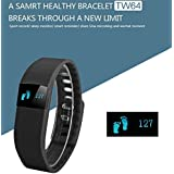 Jiyanshi Celkon Millennia Q5K Power Smart Wristband With OLED Display Smart Bracelet Smartband Sport Pedometer...