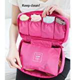 Portable Travel Drawer Dividers Closet Organizers Bra Underwear Storage Bag