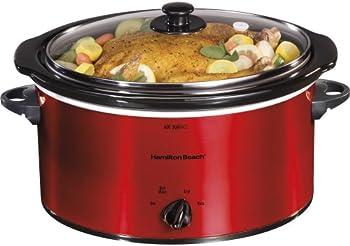 Hamilton 33155 5-Quart Slow Cooker