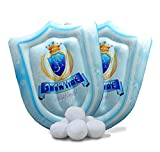 Play Visions Snowtime Inflatable Snow Shields Game - 2 Snow Shields and 6 Snowballs