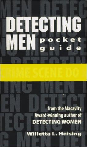 Detecting Men Pocket Guide: Checklist Only written by Willetta L. Heising