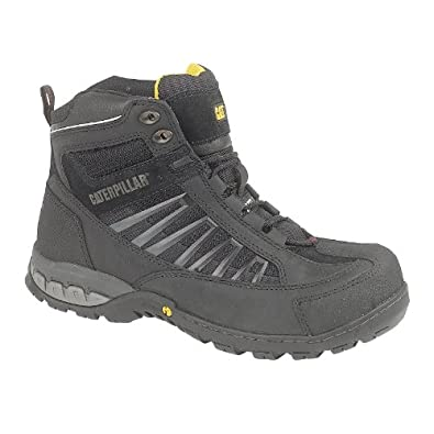 Caterpillar Kaufman Lace-Up Safety Boot / Mens Boots / Safety Boots (7