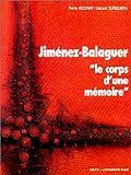 echange, troc Gérard Xuriguera - Jimenez Balaguer