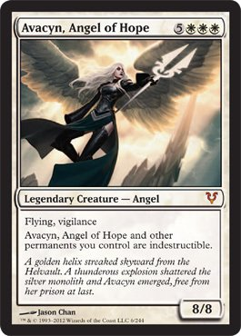 Magic: the Gathering - Avacyn, Angel of Hope (6) - Avacyn Restored
