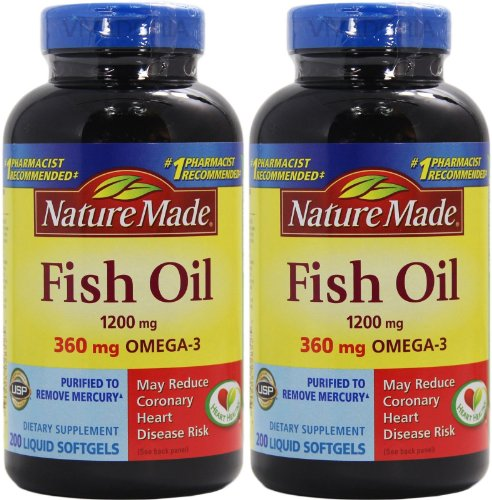 Video review nature made 360mg of omega 3 200 softgels for Nature s bounty fish oil review