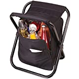 Backpack Cooler Seat Handy Picnic Hiking Sports Chair Food Drink Carrier