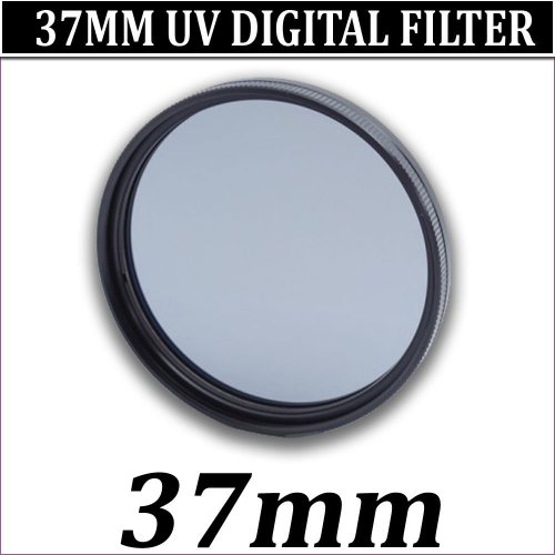 NEW 37MM MULTI COATED UV FILTER FOR 37MM LENS SIZE DIGITAL CAMCORDER, SAMSUNG CAMCORDER, CANON CAMCORDER, SONY CAMCORDER, PANASONIC CAMCORDER