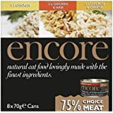 Encore Cat Tin Chicken Multipack, 70g, (Pack of 32)