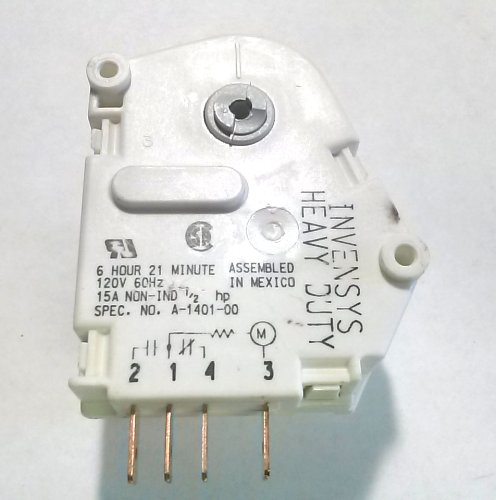 New Genuine Heavy Duty Replacement Whirlpool Kenmore Maytag Kitchenaid Roper Refrigerator Defrost Timer - Part # 4391974 front-41818