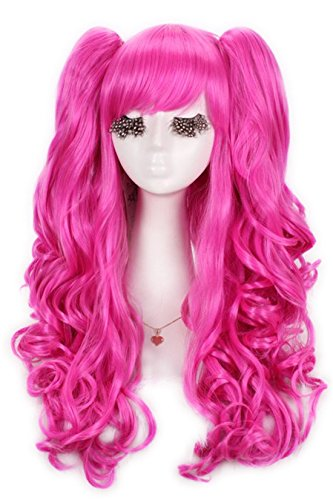 nuoqirwomens-60cm-long-magenta-lolita-clip-on-ponytails-cosplay-hair-wig-137a