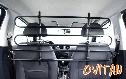 OVITAN Hundegitter fürs Auto 6 Streben universal