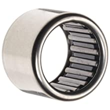 Koyo Torrington Needle Roller Bearing, Caged Drawn Cup, Steel, Inch