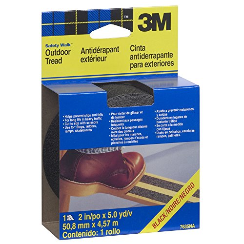 3M Safety-Walk Outdoor Tread, Black, 2-Inch by-180-Inch picture