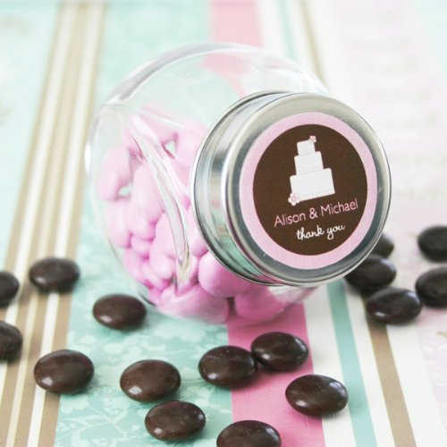 Wedding Favors Theme Candy Jars (Set of 24)