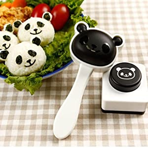 Able® Panda Shape Sushi Maker Rice Ball Onigiri Mold Mould by Able provider