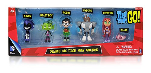 Teen Titan Character Toys : Teen titans go action figure pack