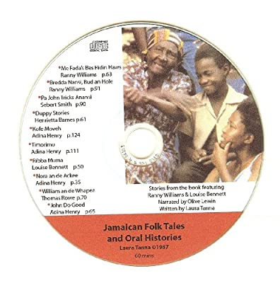 Jamaican Folk Tales & Oral Histories CD #1
