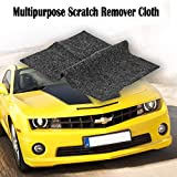 Multipurpose Scratch Remover Cloth,Car Paint Scratch Repair Cloth,Car Scratch Remover,Nano-Meter Scratch Removing Cloth for Surface Repair, Scuffs Remover, Scratch Repair and Strong Decontamin
