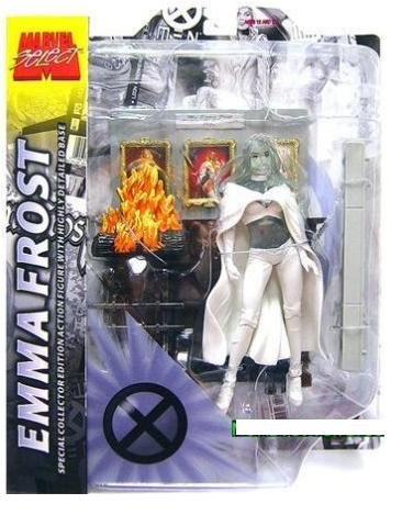 Picture of Diamond Select Marvel Select Emma Frost Figure Phasing Variant - X-Men White Queen Hellfire Club (B001S3SQ2W) (X-Men Action Figures)