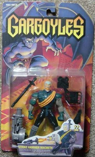 Walt Disneys Gargoyles Strike Hammer Macbeth Action Figure - 1