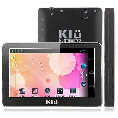 4.3 インチ タブレット端末 [Klu LT4304] Android 4.0 512MB+4GB 1GHz, Cortex A8 ★日本語化済み