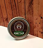 Grandpa Johnson's Pine Tar Beard Balm 2 Oz Screw Top Tin Pine Tar Scent by 7 sins beard oil