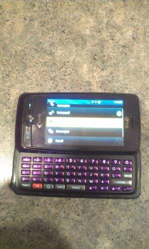 LG Rumor Touch LN510 Sprint Cell Phone (PURPLE) - djgdkjxghl