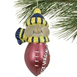 NCAA West Virginia Mountaineers All-Star Light Up Snowman Ornament at Amazon.com