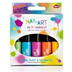 Nail Art Pen - Rainbow Brights - 5 Pack