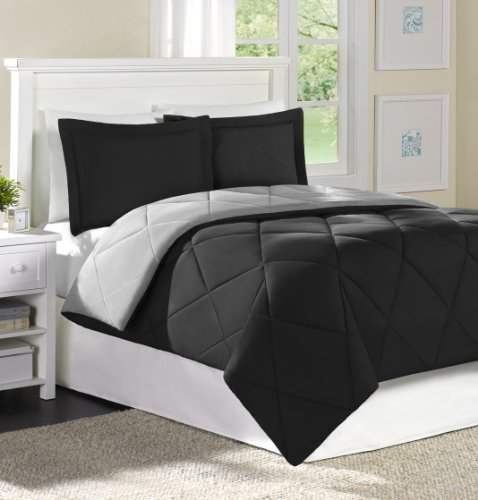 Home Essence Chadwick Microfiber Down Alternative Comforter Mini Set