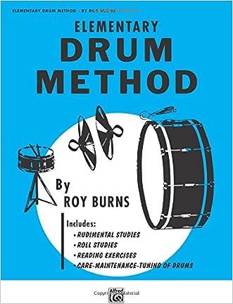 Elementary Drum Method written by Roy Burns