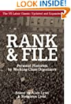 Rank and File: Personal Histories by...