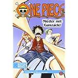 """Nippon Novel: One Piece - Nieder mit Ganzack!von """"Eiichiro Oda"""""""