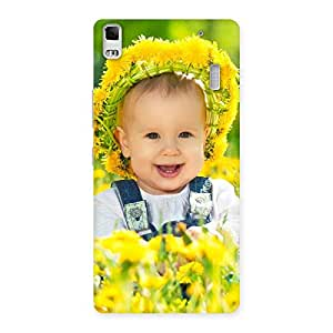 Stylish Laughing Baby Girl Back Case Cover for Lenovo A7000