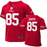 Vernon Davis Infant Jersey: Home Red Game Replica #85 Nike San Francisco 49ers Infant Jersey